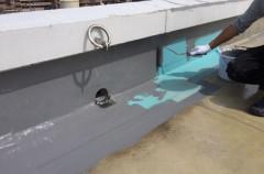 ファミーユ塩浜屋上ウレタン防水塗装工事