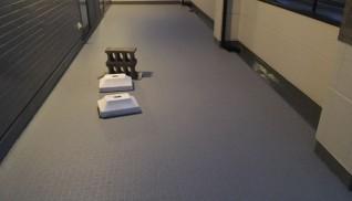 本村邸バルコニー部防水及び貼り床工事
