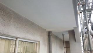 福岡酒販ビル軒天井修繕工事