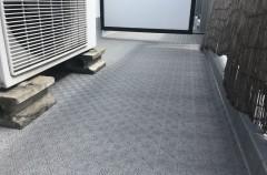 大明コーポ バルコニー防水貼り床工事