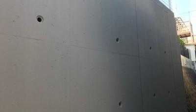 福岡市東区香住丘 擁壁修繕工事