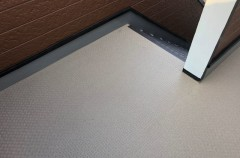 方縄アパート 貼り床工事